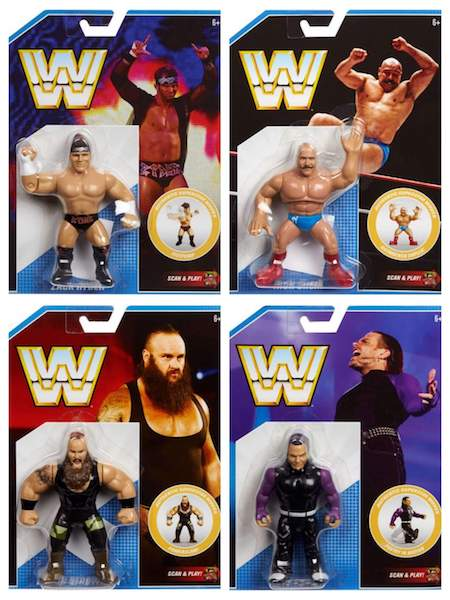 Megalopolis: City Of Collectibles – Mattel WWE Retro Series 8 Figures In-Stock