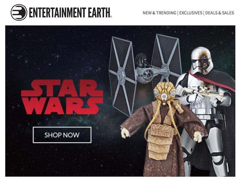 Entertainment Earth – Star Wars TBS 6″ Battle Damaged Captain Phasma, Zackuss & More