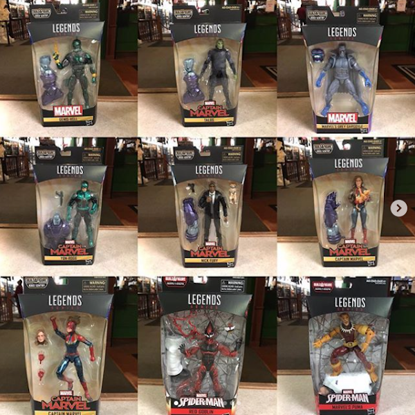 Kokomo Toys eBay Store – New Marvel Legends Captain Marvel, Spider-Man, Star Wars TBS & TVC Figures