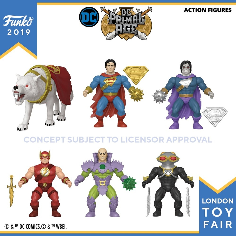 Funko DC Primal Age Wave 3 Figures In-Stock On Entertainment Earth