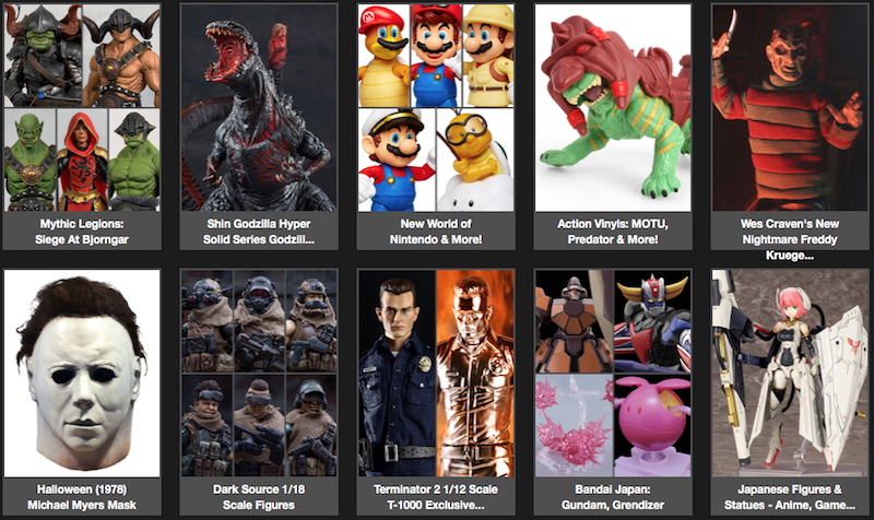 BigBadToyStore News – Mythic Legions, MOTU, The Shining, Batman, Freddy, Halloween, Wolverine, Terminator & More