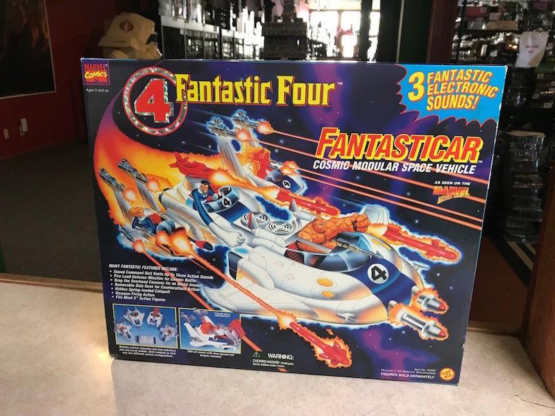 Kokomo Toys eBay Store – Toybiz Marvel 1995 Fantastic Four Fantasticar & More