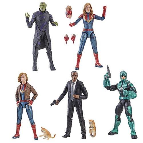Hasbro Marvel Legends 6″ Captain Marvel Movie Figure Pre-Orders