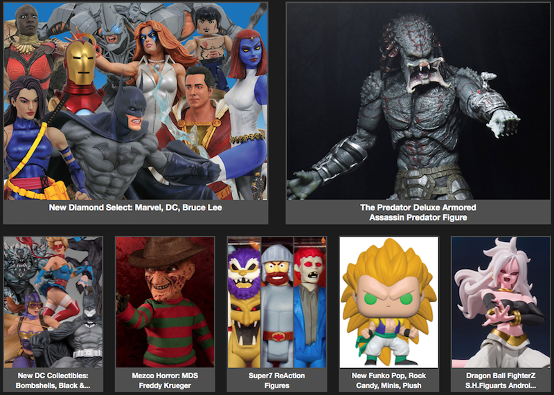BigBadToyStore News – Dragon Ball, Predator, Marvel, DC, Final Fantasy, NieR, Alien, Power Rangers & More