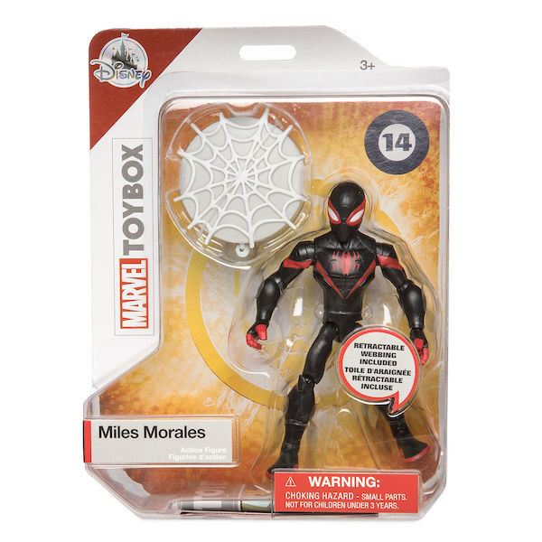 Disney Store Exclusive Marvel & Disney Toy Box Figures – Minnie Mouse, Miles Morales, Iron Man & Stitch Available Now