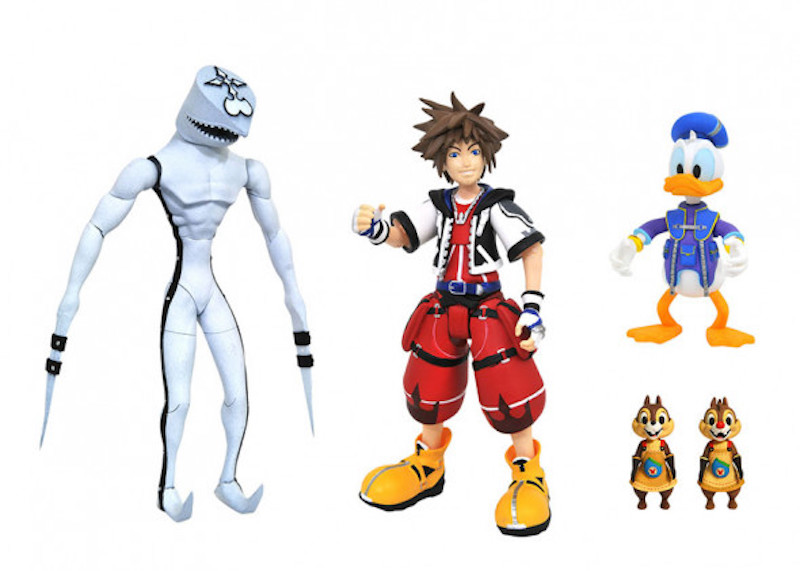Diamond Select Toys Kingdom Hearts Select Series 2.5 Figure Exclusives Now At Walgreens