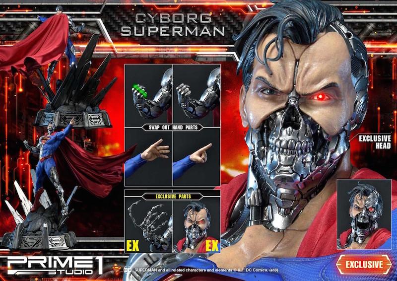 Prime 1 Studio Cyborg Superman Statue Pre-Orders