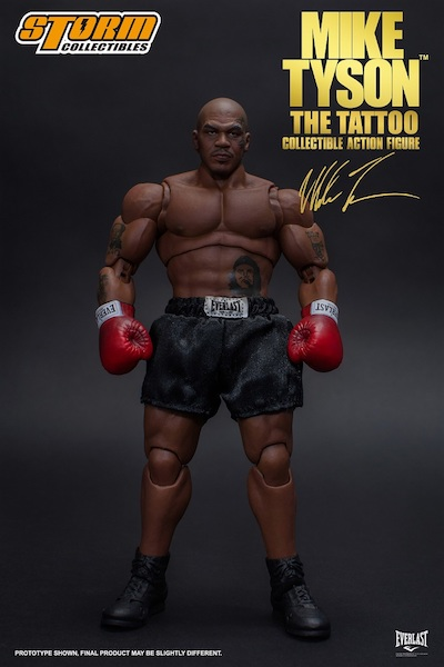 """Bluefin Opens Pre-Orders For Mike Tyson """"Tattoo"""" 1/12 Scale Figure"""
