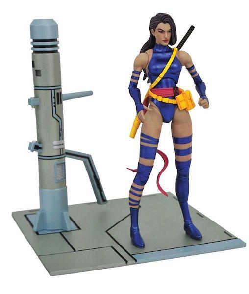 Diamond Select Toys Shipping This Week – Marvel Select Psylocke Figure