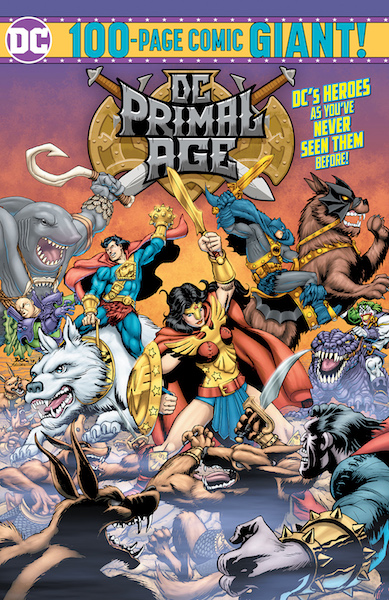 DC Primal Age' Comic Book One-Shot Now Available At Target Stores