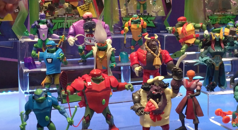 Playmates Toys NYTF 2019 – Video Walkthrough Of Rise Of The Teenage Mutant Ninja Turtles Product