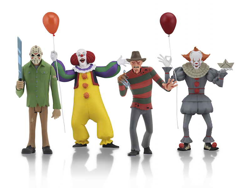 NECA Toys Shipping This Week – 1/4″ Pennywise, Deadpool & Toony Terrors