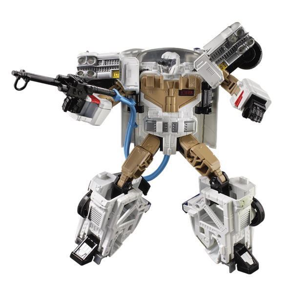 Transformers Generations Collaborative: Ghostbusters Mash-Up, Ecto-1 Ectotron Figure