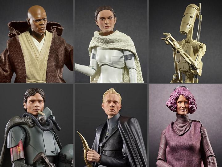 Hasbro Star Wars The Black Series 6″ Wave 31 Figure Pre-Orders