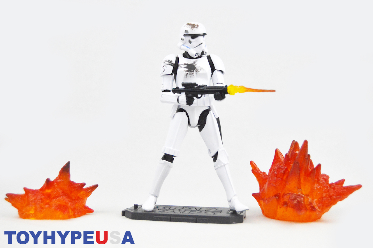 Disney Store Exclusive Star Wars The Black Series 6″  Battle Damaged Stormtrooper Figure Review