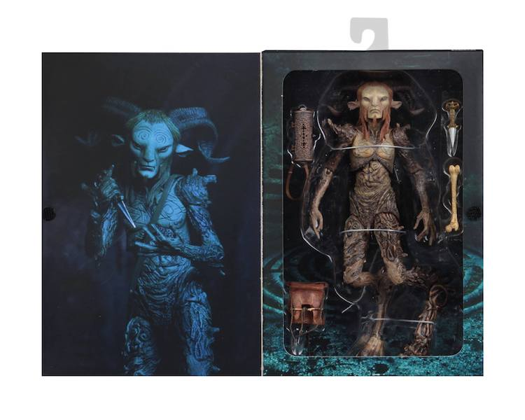 NECA Toys Guillermo del Toro Signature Collection – Faun (Pan's Labyrinth) Figure In-Packaging