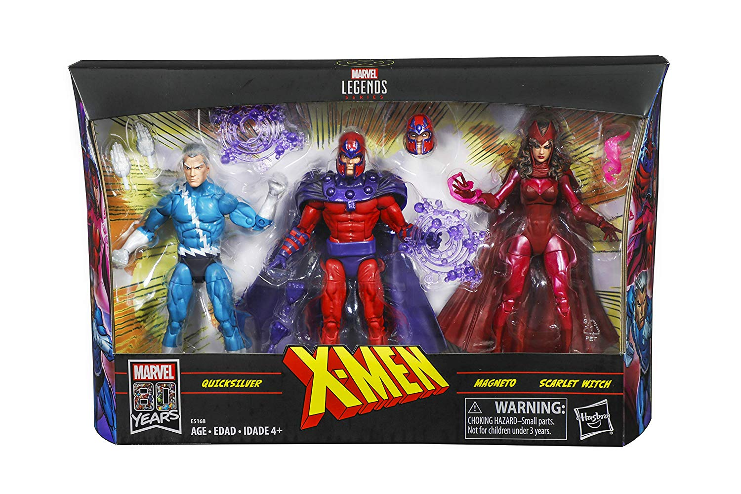 Hasbro Marvel Legends Magneto, Quicksilver & Scarlet Witch Exclusive 3-Pack Pre-Orders At Amazon