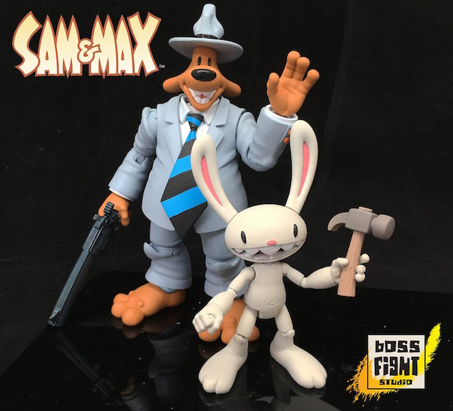 Boss Fight Studio Sam & Max Figures Update