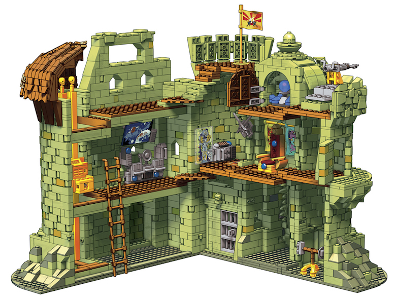 Entertainment Earth – Mega Construx Masters Of The Universe Castle Grayskull Construction Set Pre-Orders