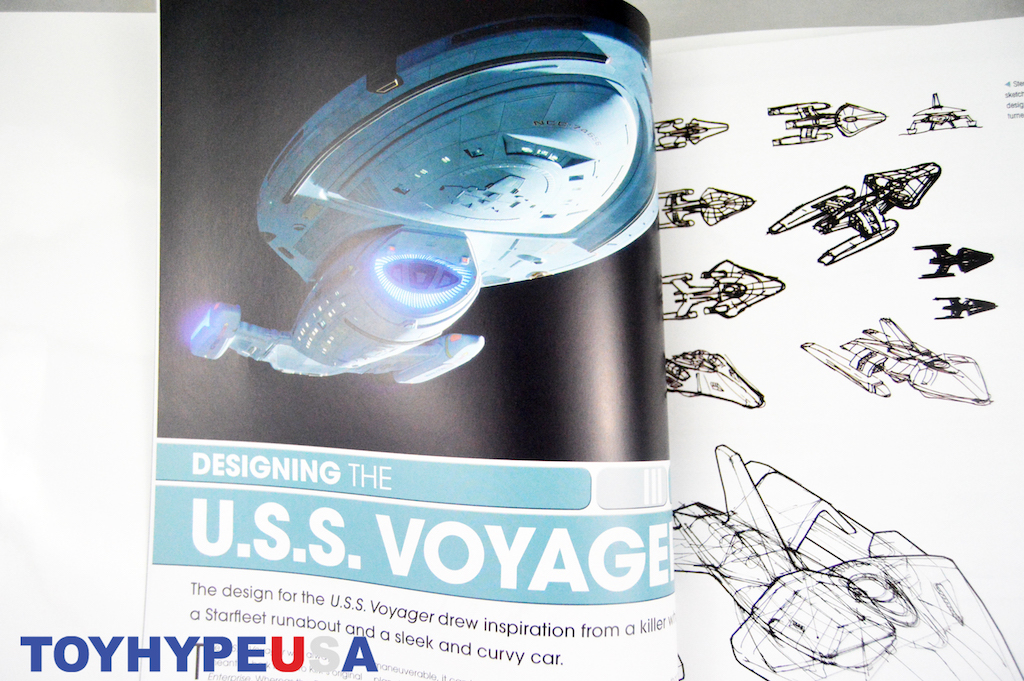 Eaglemoss Hero Collector – Star Trek: Designing Starships Vol. 2 Book Review