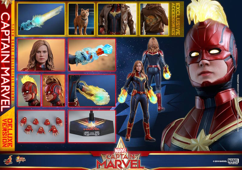 Hot Toys Captain Marvel Sixth Scale Figure Pre-Orders