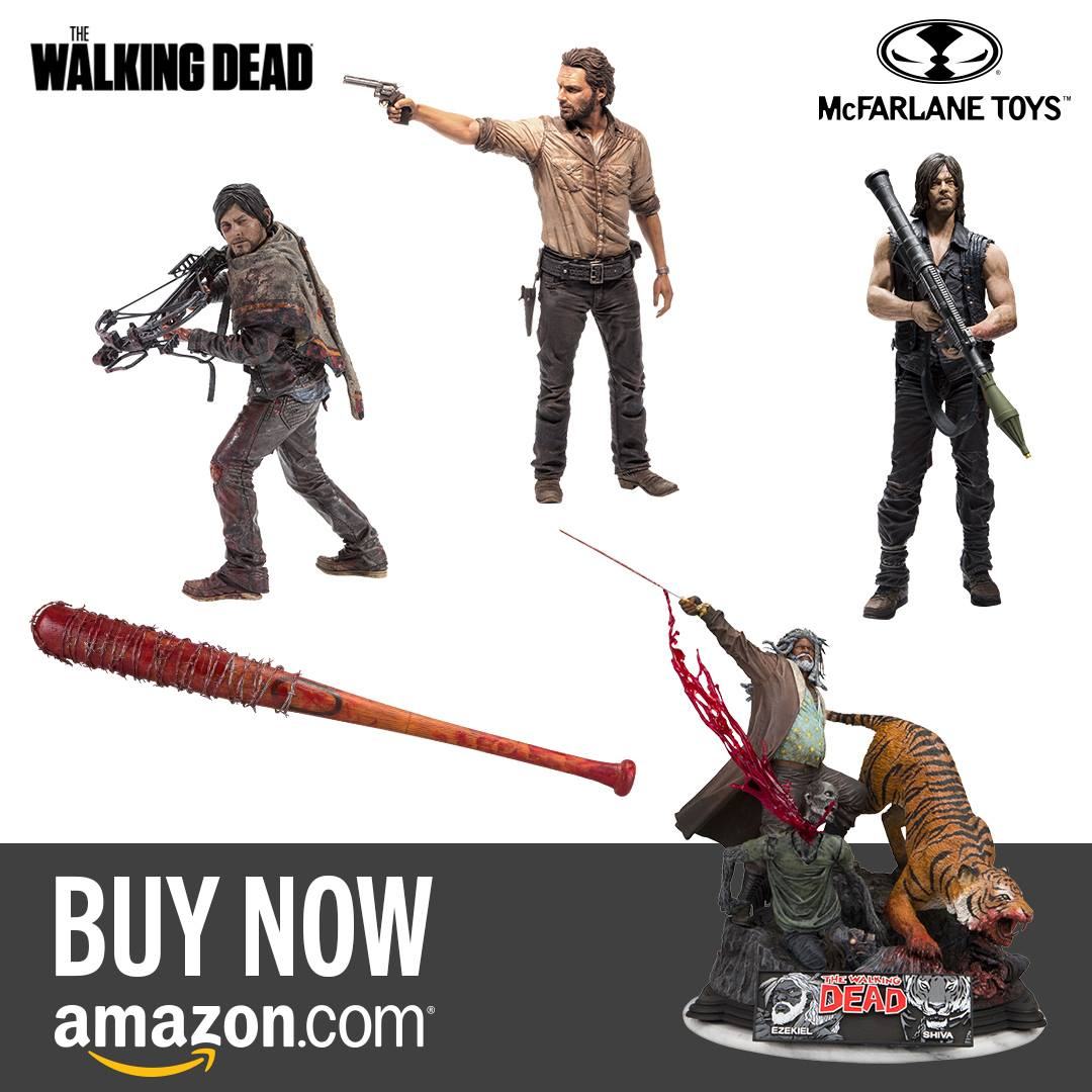 Celebrate The Premier Of Tonight's The Walking Dead With Your Favorite Figures From McFarlane Toys