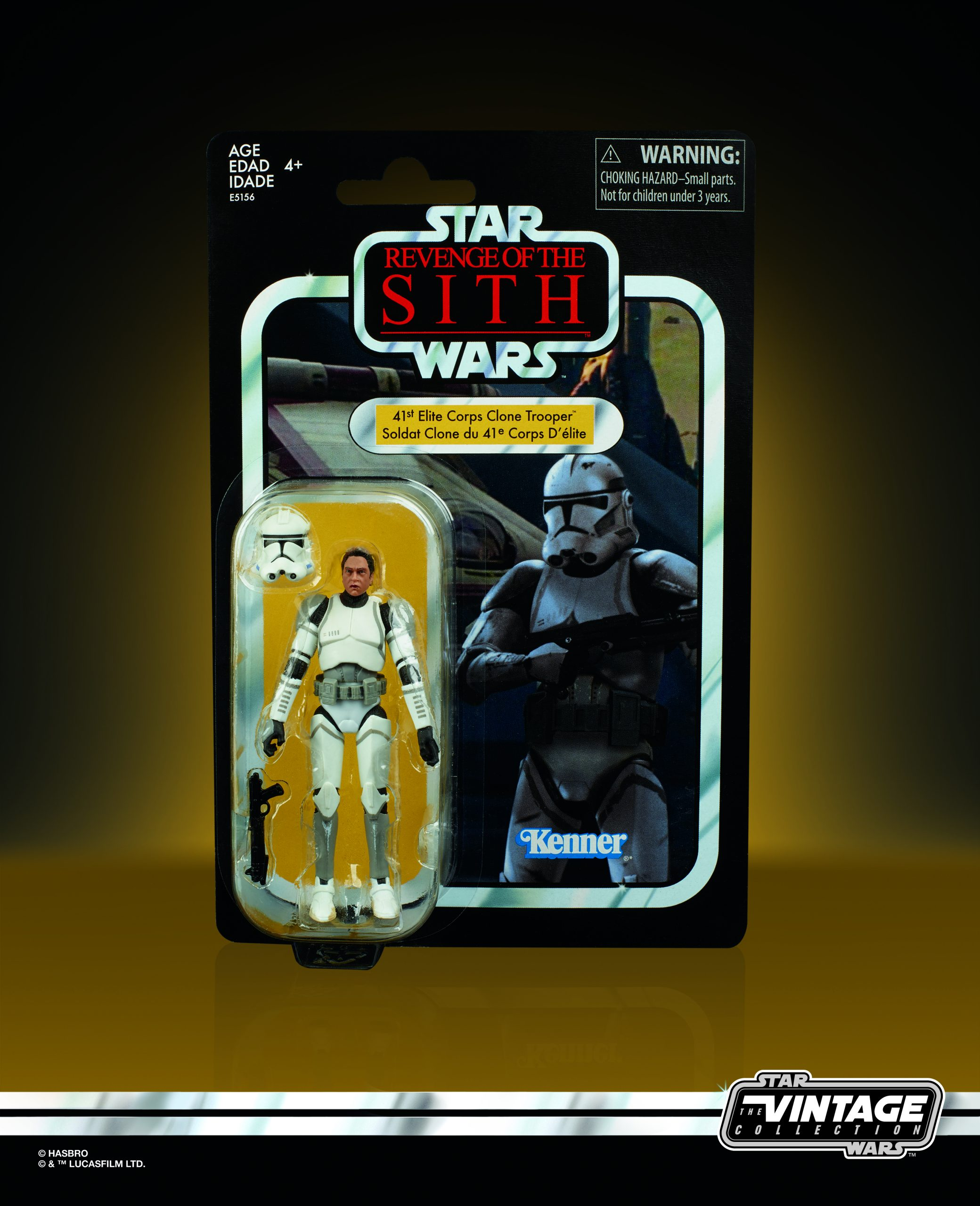 Entertainment Earth – Star Wars The Vintage Collection 3 3/4″ Elite Clone Trooper In-Stock