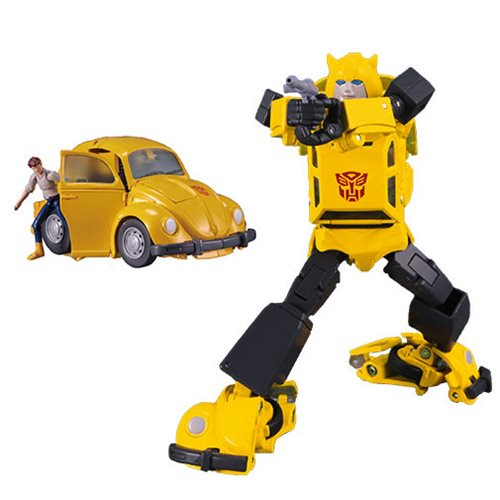 Hasbro Transformers Masterpiece Edition MP-45 Bumblebee & Spike 2.0 Figures