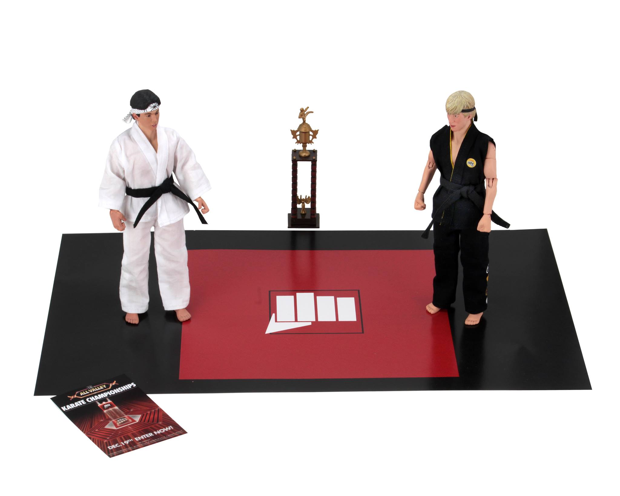 NECA Toys The Karate Kid Clothed 8″ Figure Assortment & Tournament 2-Pack Available Now