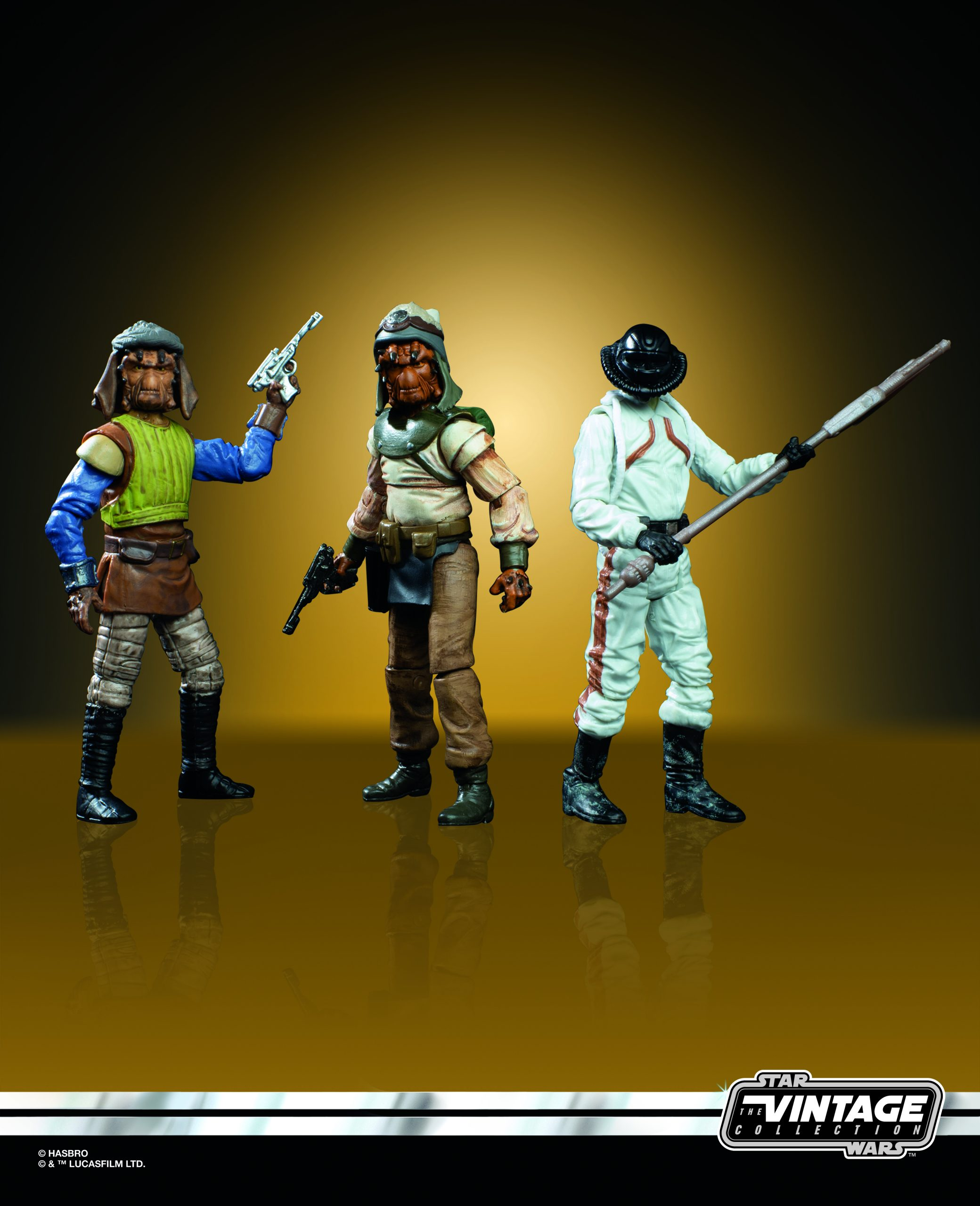 Entertainment Earth – Hasbro Star Wars The Vintage Collection Skiff Guard Figure 3-Pack Back In-Stock