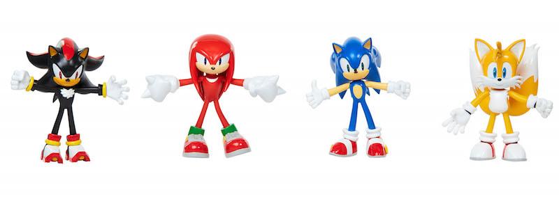 Jakks Pacific Offers Sonic The Hedgehog Action Figures