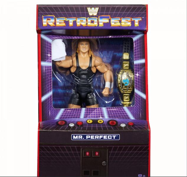 Mattel WWE Retrofest Mr. Perfect Figure Announced