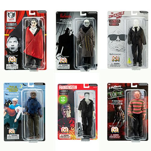Mego Horror Icons 8″ Clothed Retro Figures