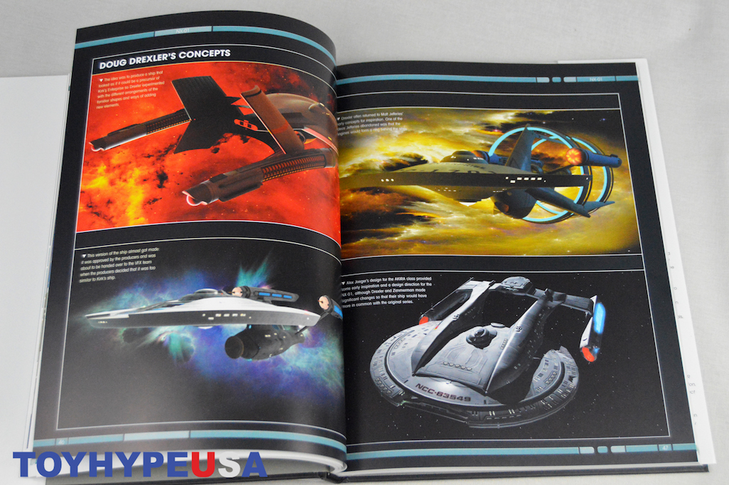 Eaglemoss Hero Collector – Star Trek: Designing Starships Vol. 1 Book Review