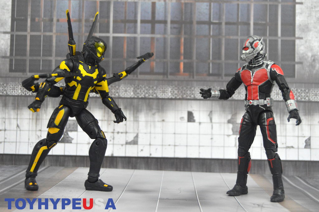 Hasbro Marvel Legends 6″ Ant-Man & Yellowjacket Figures Review