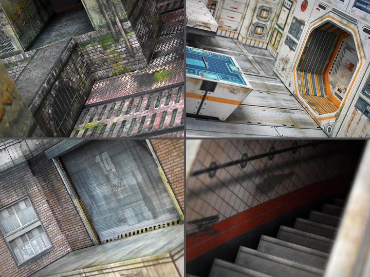 Extreme-Sets – New Deranged Alley, Building, Sector, & Sewer Dioramas