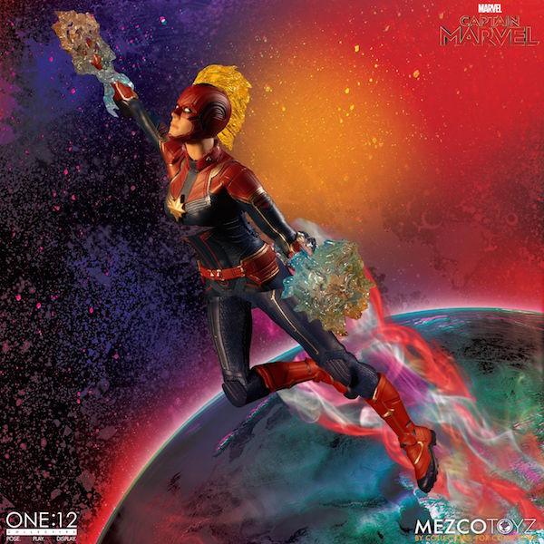 Mezco Toyz Marvel's Captain Marvel Movie One:12 Collective Figure Pre-Orders