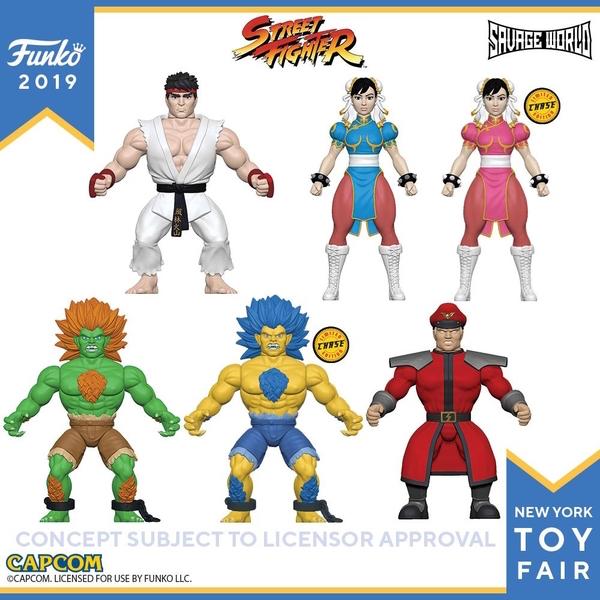 Funko Street Fighter Savage World 5″ Figures