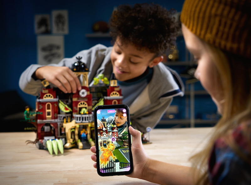 LEGO Takes Augmented Reality By Storm With A Brand-New Product Line