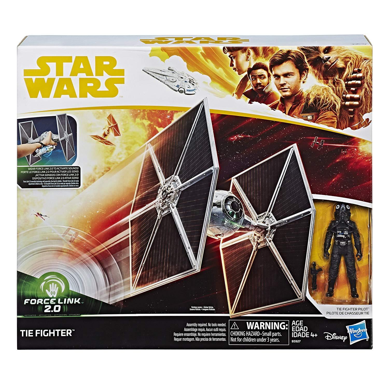 Star Wars Force Link 2.0 Tie Fighter & Tie Fighter Pilot Figure Now $20 On Amazon
