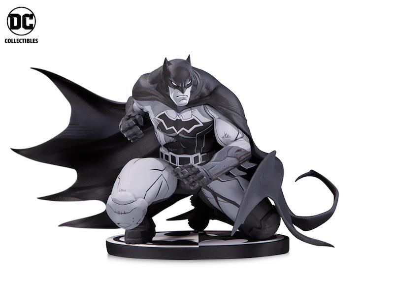 DC Collectibles In-Stores Now – Batman Black & White: Batman By Joe Madureira Statue