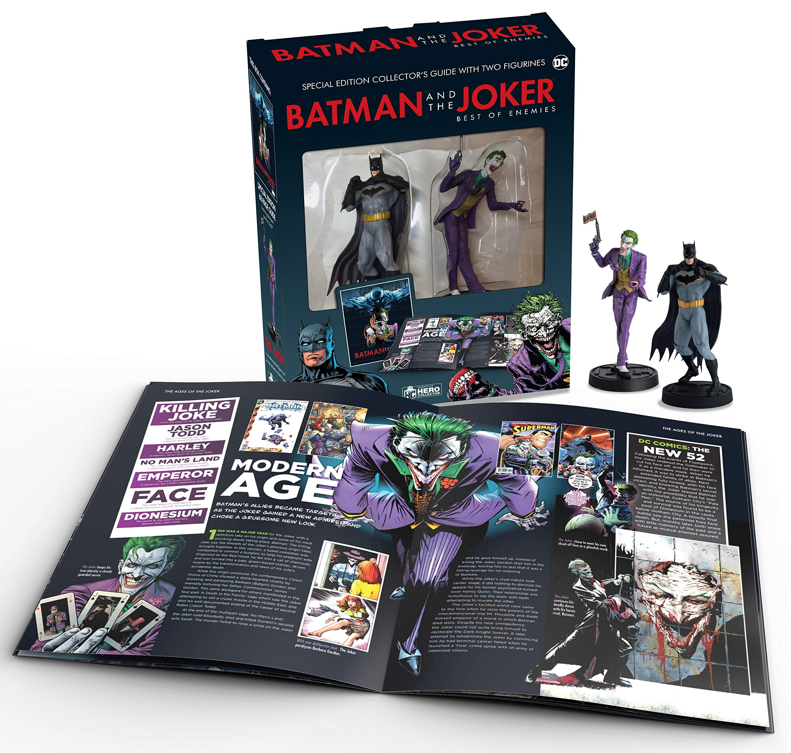 Eaglemoss Hero Collector – Batman & Joker Best Of Enemies Collector Set
