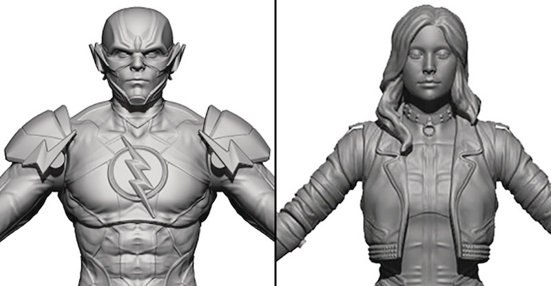 Hiya Toys Injustice 2 Black Canary & Reverse Flash 1/18th Scale Figure Pre-Orders