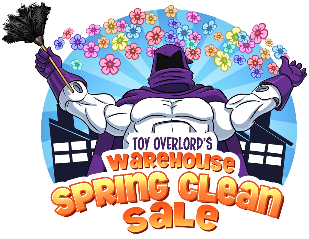 Megalopolis: City Of Collectibles – Toy Overlord's Spring Clearance Sale