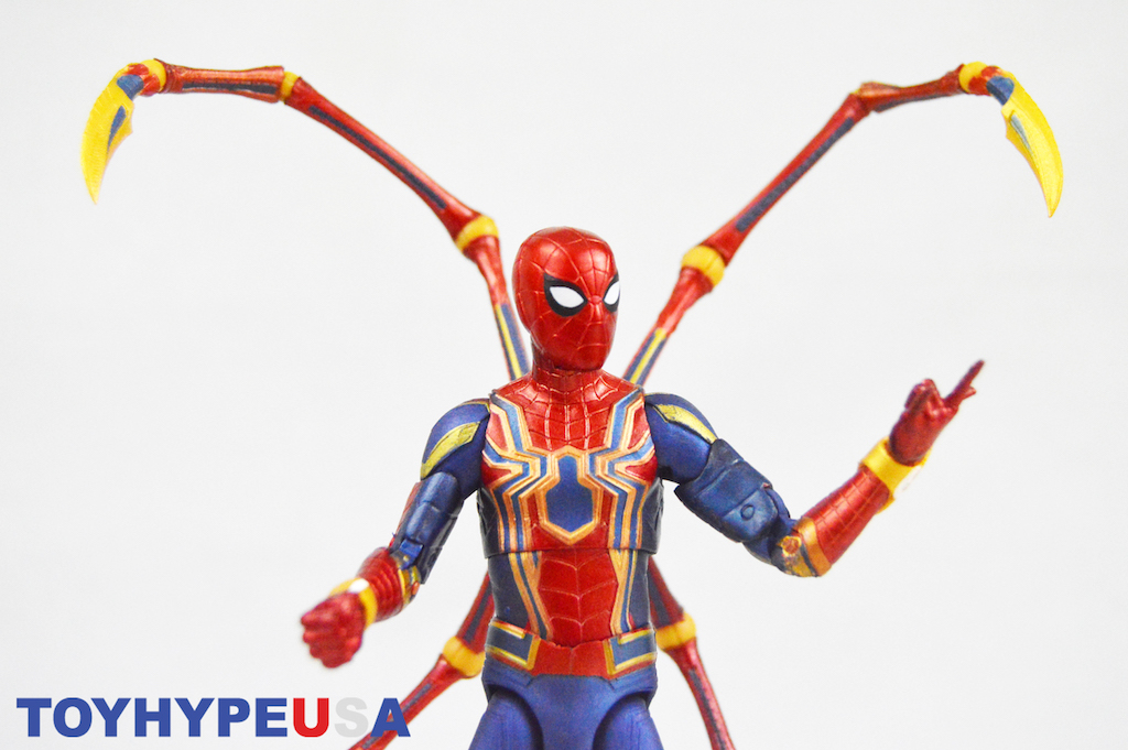 Diamond Select Toys – Marvel Select Avengers: Infinity War Iron Spider-Man Figure Review