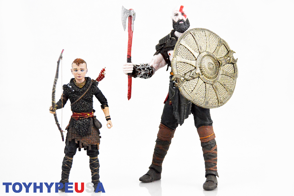 NECA Toys God Of War Kratos And Atreus Set Review