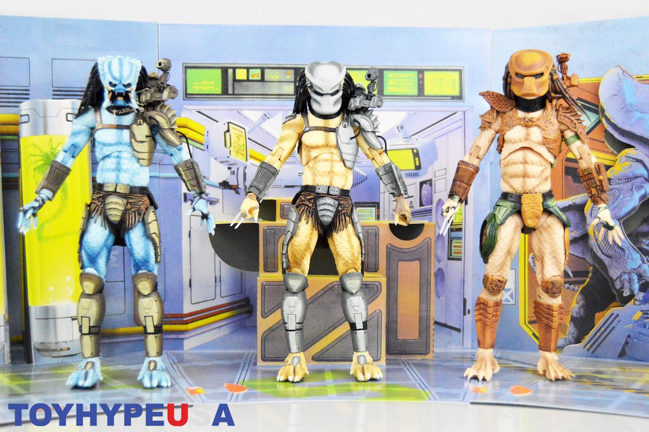 NECA Toys Alien Vs Predator – Arcade Appearance Predator Figures Review