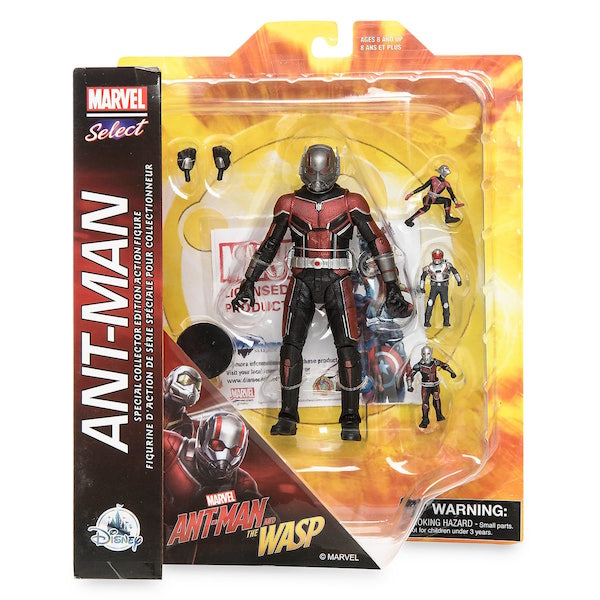 Disney Store Exclusive Marvel Select Ant-Man & The Wasp Figures Available Now