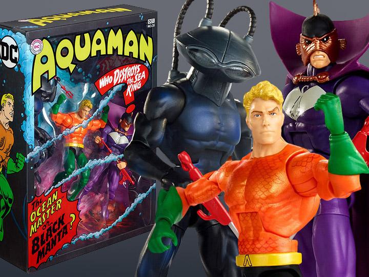 BigBadToyStore – DC Comics Multiverse Aquaman Between Two Dooms SDCC 2018 Exclusive 3-Pack Pre-Orders