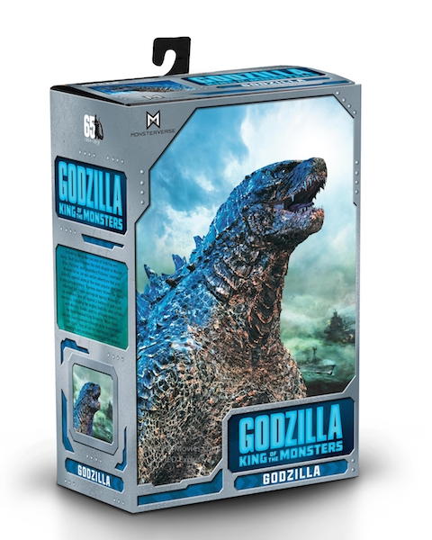 NECA Toys Godzilla: King Of The Monsters – Godzilla Figure In-Packaging